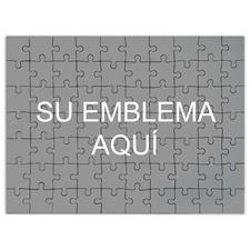 Personalice el rompecabezas imprimiendole su nombre comercial, de 45.72 cm x 60.96 cm con 70 o 252 o 500 piezas