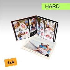 15.24 cm x 20.32 cmCrea y personalice su foto-libro de tapa dura