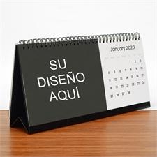 Calendario de escritorio de fotos promocional, impresión personalizada