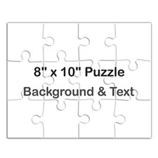 8X10 Personalized Landscape Message Puzzle