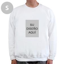 Retrato personalizado imagen personalizados blanco Sudadera, S