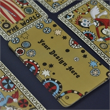Naipes tamaño tarot personalizados (Cartas en blanco)