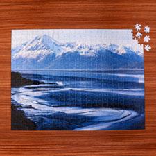 45.72 cm x 60.69 cm Rompecabezas personalizados con una galeria de propias fotos de 70 o 252 o 500 piezas