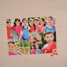 blanco Seven colage 18 X 24 Photo Puzzle