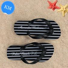 Sandalias personalizadas con monograma diseño