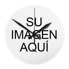 Reloj de pared de diseño personalizado sin marco