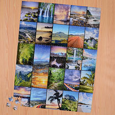Twenty Five colage 18 X 24 Photo Puzzle