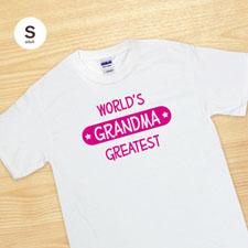 Camiseta blanca personalizada con estampado