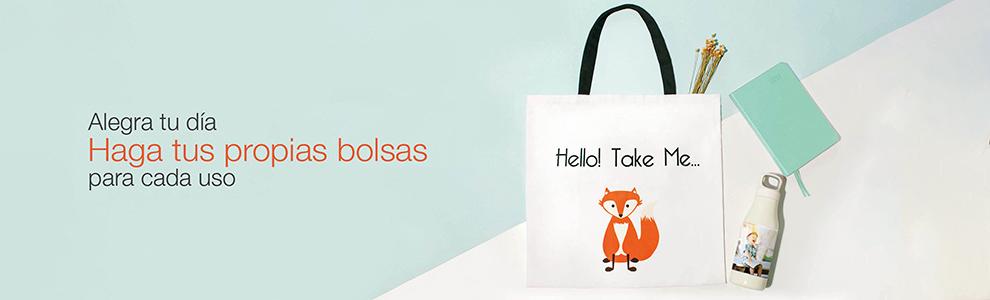 Bolsos y bolsas personalizadas con foto