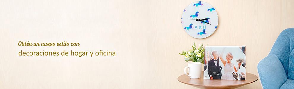 Accesorios decorativos personalizados para la casa