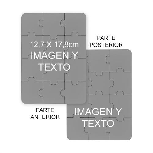 12.70 cm x 17.78 cm Personalize el retrato de dos lados