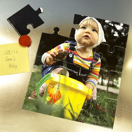 Magnetic  Foto  Gallery 12 piezas Puzzle
