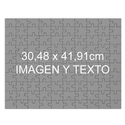 Personalizado Magnético 30.48 cm x 41.91 cm Personalizado  rompecabezas con foto