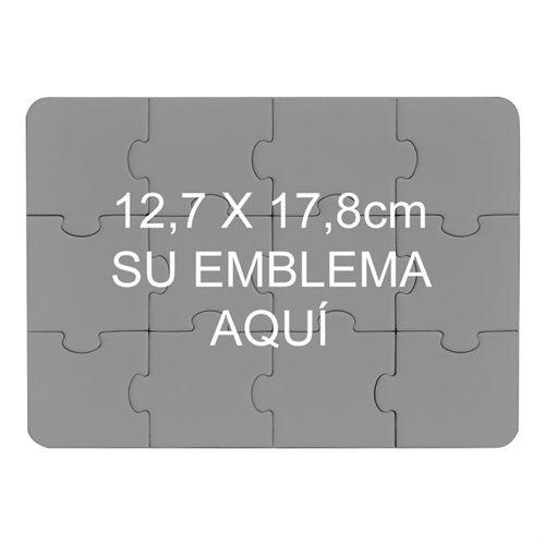 Rompecabezas personalzidaos con impresión como invitación de 12.70 cm x 17.78 cm
