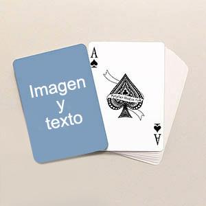 Cartas de tamaño póquer